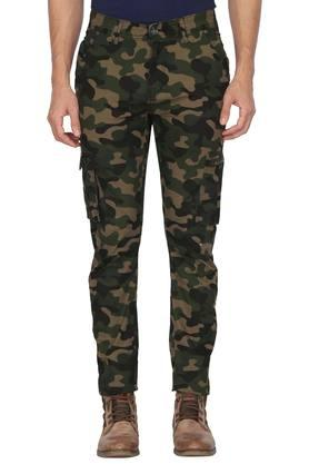 Mens 6 Pocket Camouflage Cargos