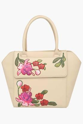 SATYA PAUL Womens Zipper Closure Tote Handbag - 203029105