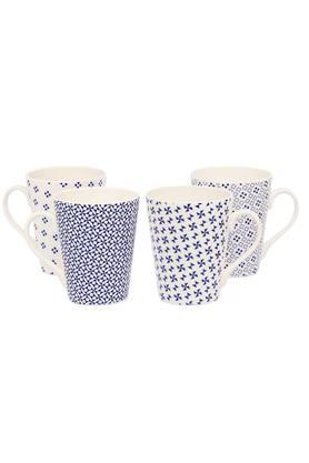 IVY Printed Coffee Mug Set - Pack Of 4