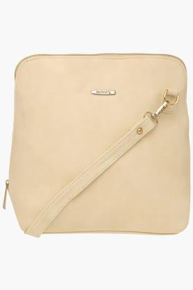 HAUTE CURRY Womens Zipper Closure Sling Bag - 203524603