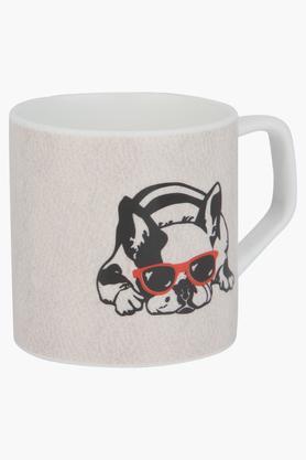 IVYRound Puja Pup With Glare Printed Mug