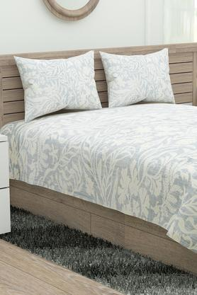 Printed Double Bed Sheet with 2 Pillow Covers