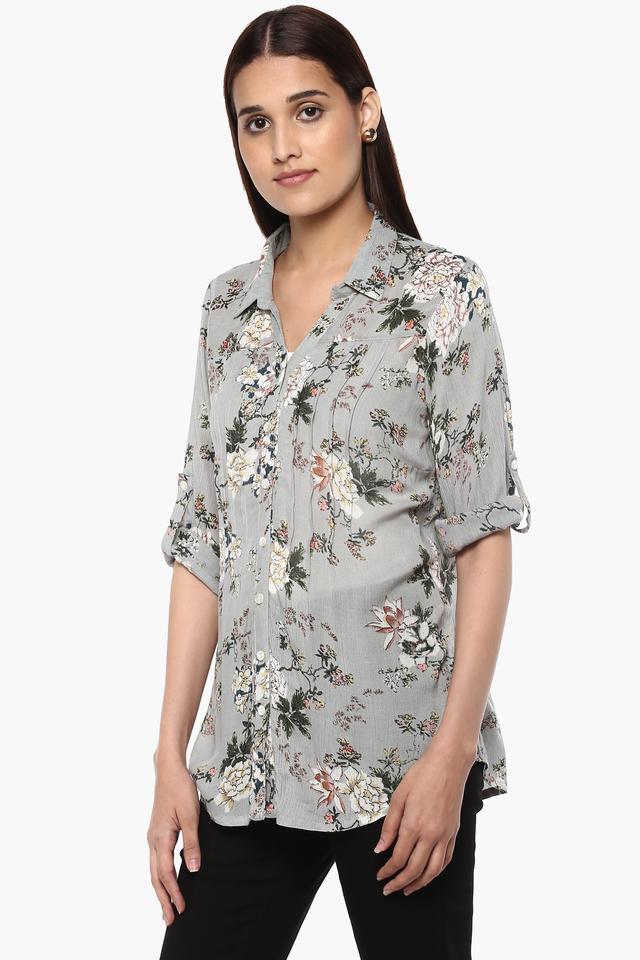 Womens Printed Casual Tunic