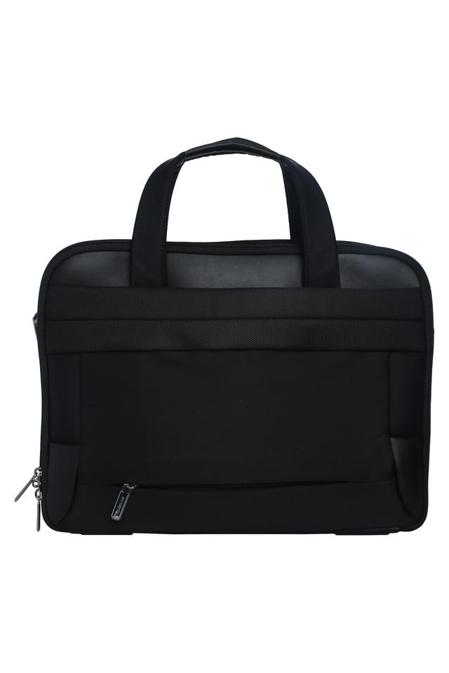 Unisex Zipper Closure Laptop Sling Bag