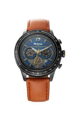 X TITAN Mens Octane Blue Dial Chronograph Leather Watch ...