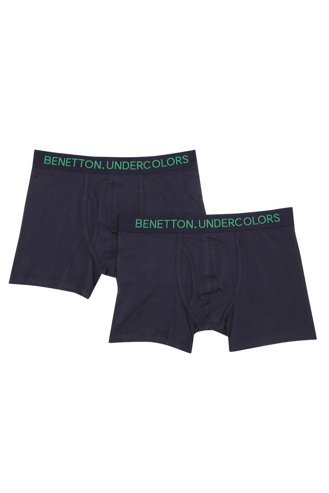 Mens Solid Trunks Pack of 2