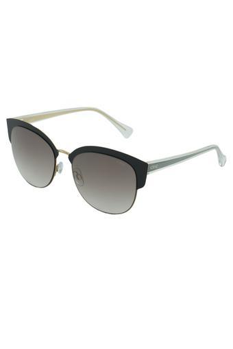 Womens Browline Polycarbonate Sunglasses - 2342C1SG