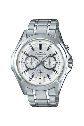 Mens Silver Dial Multi-Function Watch - A1472