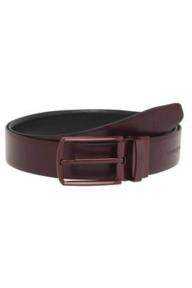 VETTORIO FRATINIMens Leather Buckle Closure Formal Belt