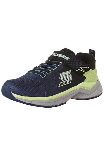 Girls Synthetic Velcro Closure Sports Shoes