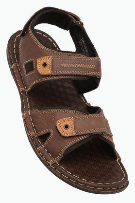 RED TAPEMens Leather Velcro Closure Sandals - 203095192