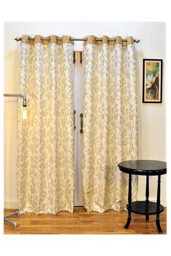 Leaf Printed Door Curtain