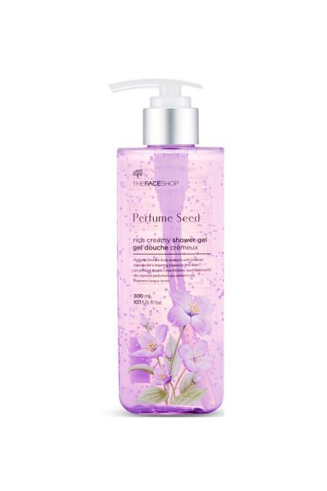 Rich Creamy Perfume Seed Shower Gel - 300ml