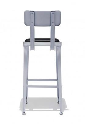 White Bianco Bar Chair