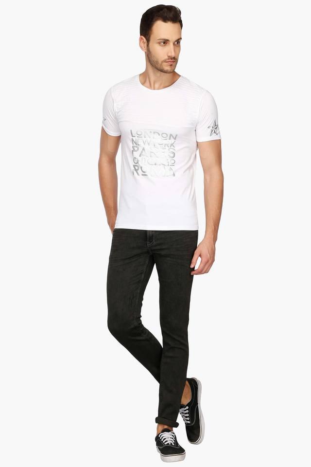 Mens Printed Casual T-Shirt