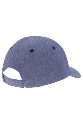 Boys Slub Embroidered Cap