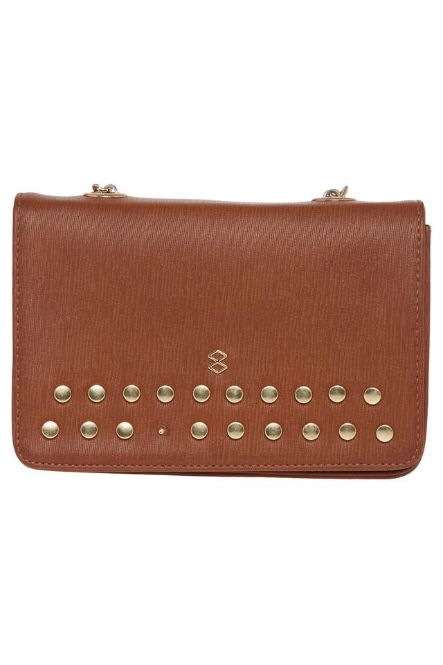 Womens Magnetic Closure Sling Bag