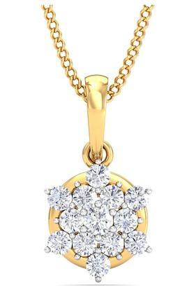 P.N.GADGIL JEWELLERSWomens Forever Floral Diamond Pendant - DDT008PD149