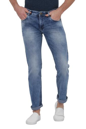 LIFE -  Blue Mix Dark Jeans - Main