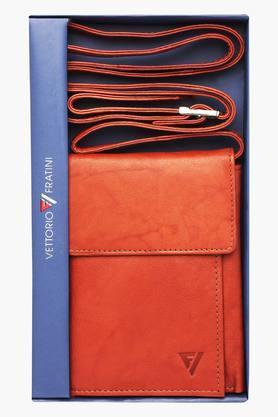 VETTORIO FRATINIMens Leather 2 Fold Wallet