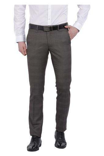 VAN HEUSEN -  Brown MixCargos & Trousers - Main