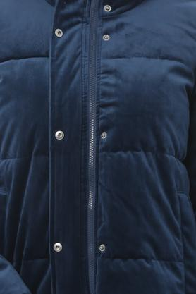 Womens High Neck Quilted Jacket
