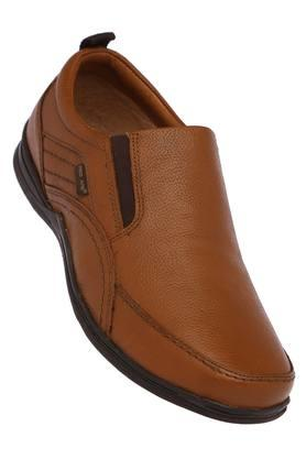 RED TAPE Mens Leather Slipon Loafers - 203578717