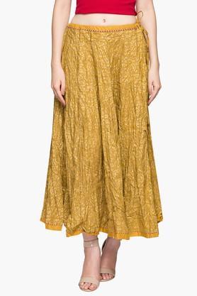 BIBAWomens Printed Long Skirt
