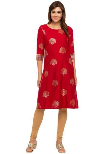 KASHISH -  Red Kurtas - Main