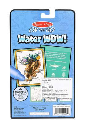 Unisex Under The Sea Water Reveal Pad with Refillable Water Pen