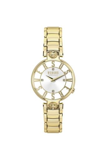 Womens Stainless Steel Analogue Watch - VSP490618