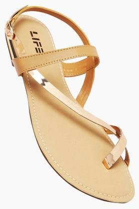 LIFE Womens Casual Wear Buckle Closure Flats - 203160042