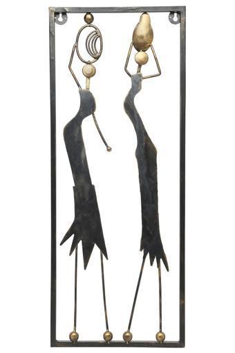 Tarni Metallic Figures Wall Decor