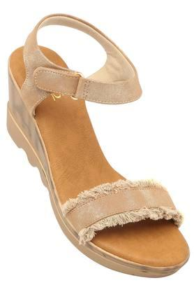 Womens Party Wear Velcro Closure Wedges