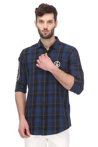 Mens Comfort fit Collar Check Shirt