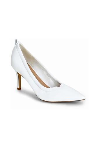 TRUFFLE COLLECTION -  White Heels - Main