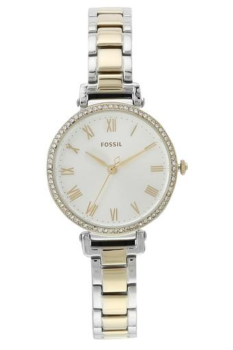 Womens Kinsey White Dial Stainless Steel Analogue Watch - ES4449I