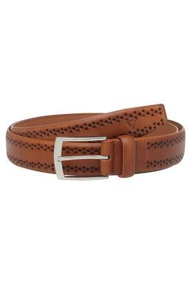 VETTORIO FRATINI Mens Leather Buckle Closure Casual Belt