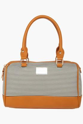 SATYA PAUL Womens Zipper Closure Satchel Handbag - 203029043