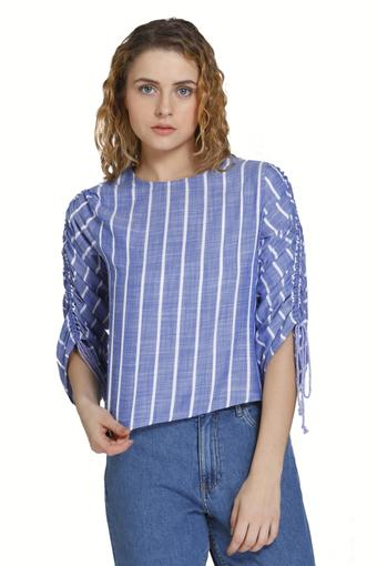 ONLY -  Blue DenimT-Shirts - Main