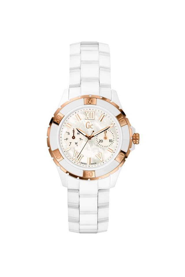 Womens Sport Chic Collection Ceramic Analogue Watch - X69003L1S
