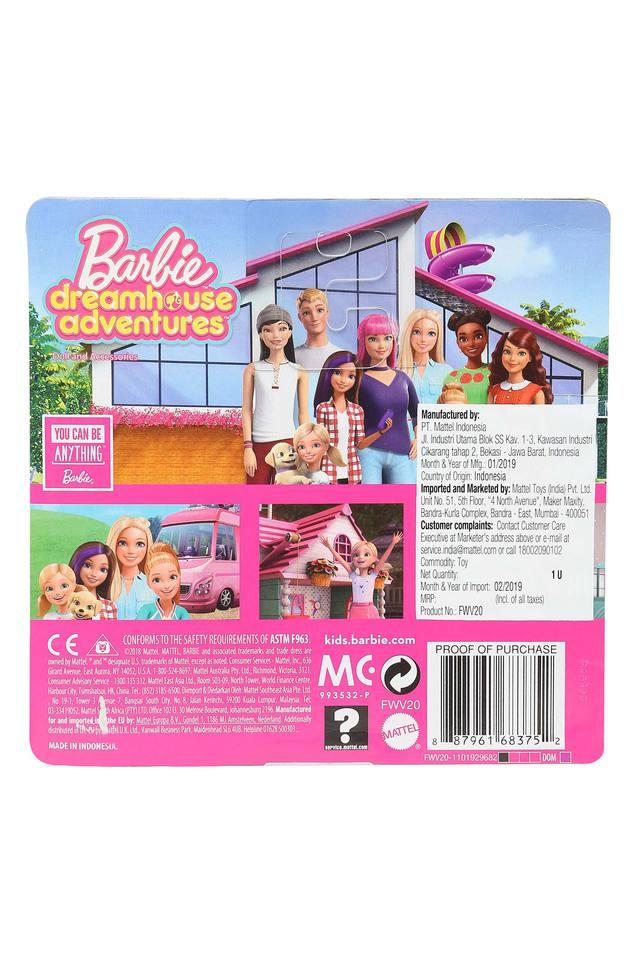 Girls Barbie Travel Fun Chelsea