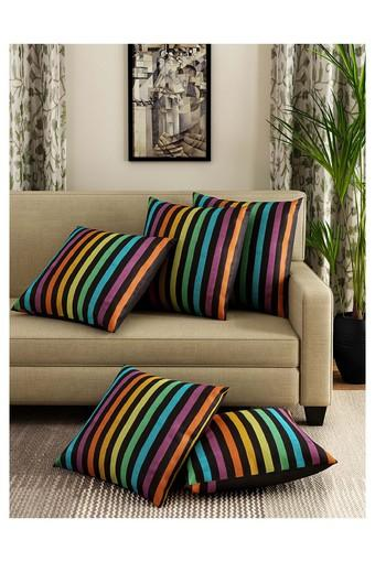 Stripe Cushion Cover Set Of 5