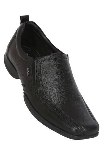b81ee81025 Buy LEE COOPER Black Mens Slip On Formal Shoes | Shoppers Stop