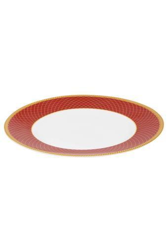 Regent Round Colour Block Quarter Plate