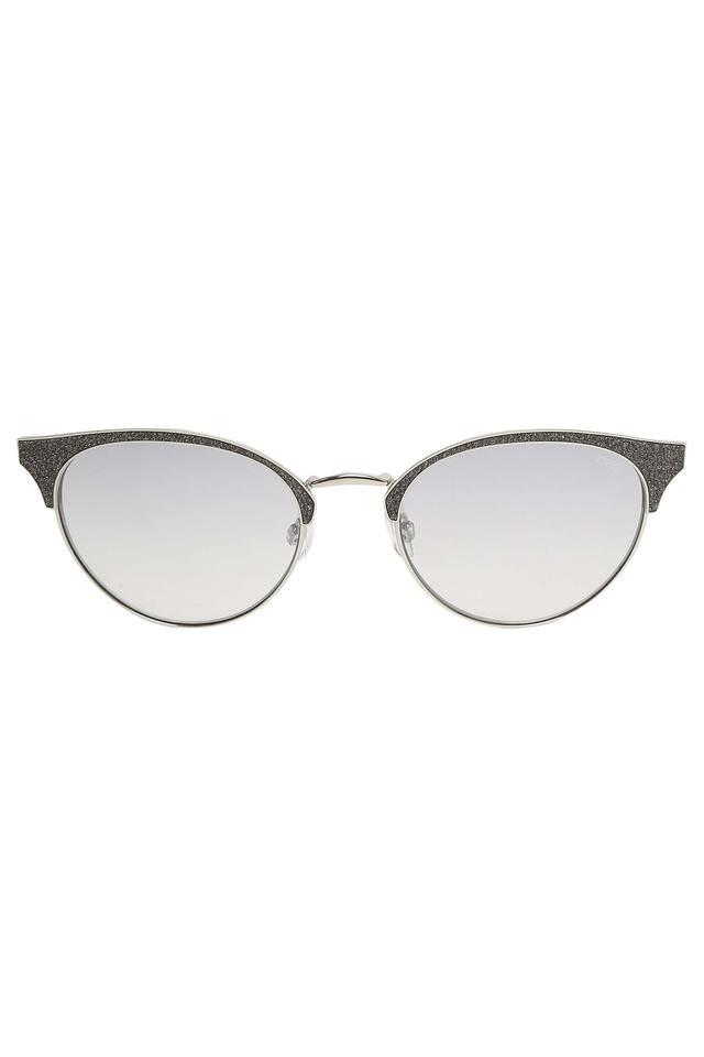 Womens Gradient and UV protected Lens Browline Sunglasses - IDS2496C2SG