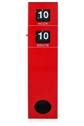 SPREADRectangular Solid Flip Table Clock