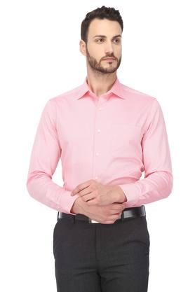 Mens Classic Fit Collar Printed Shirt