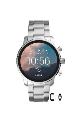 Mens Gen 4 Q Explorist HR Stainless Steel Touchscreen Smart Watch - FTW4011