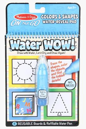 Colors & Shapes Water Reveal Pad with Refillable Water Pen